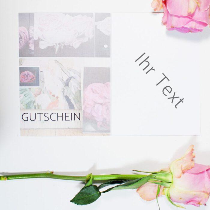 """Gutschein """"Valentina"""""""
