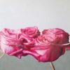 Rosen in Öl gemalt